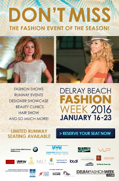 Delray Beach Fashion Week - January 16-23