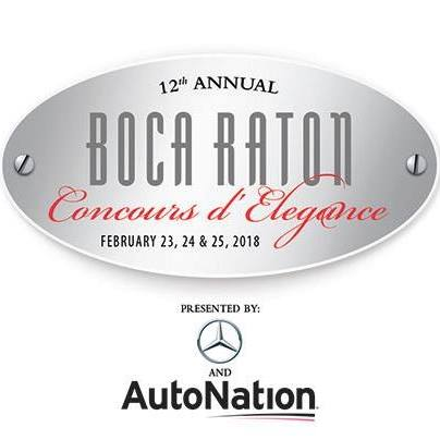 The Boca Raton Concours d' Elegance 2018