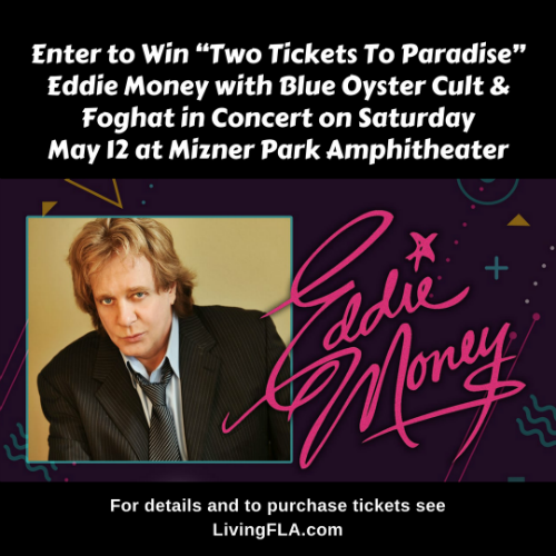 """Win """"Two Tickets To Paradise"""" – Eddie Money"""
