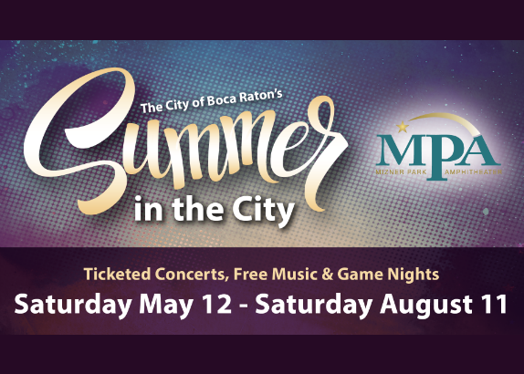 Summer In The City At Downtown Boca's Mizner Park Amphitheater