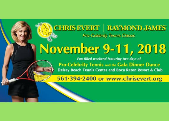 2018 Chris Evert / Raymond James Pro-Celebrity Tennis Classic, November 9 – 11