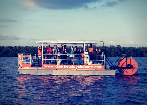 Unique Fort Myers Party Boat Lagerhead Cycleboats Announces Exciting November 16th Launch