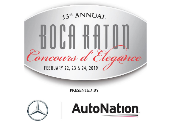 The 13th annual Boca Raton Concours d'Elegance presented by Mercedes-Benz and AutoNation
