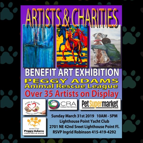 Hand in Hand Art Show with Peggy Adams Animal Rescue League