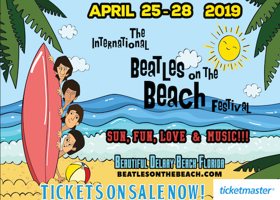 The International Beatles On The Beach Festival, April 25-28.