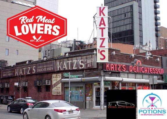 "Katz's Deli ""Pop-Up"" Exclusive Night of Pastrami, Corned Beef and Race Cars"