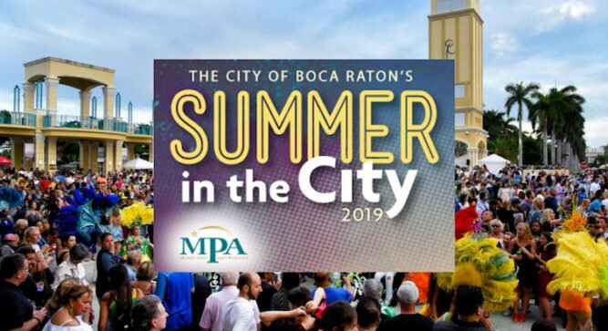 Downtown Boca Summer in the City Series at Mizner Park Amphitheater