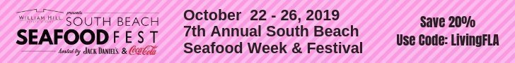 Save 20% South Beach Seafood Festival