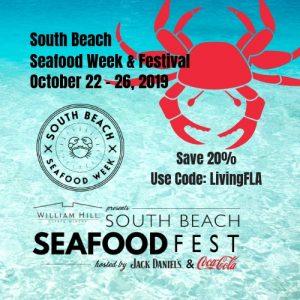 Save 20% South Beach Seafood Festival
