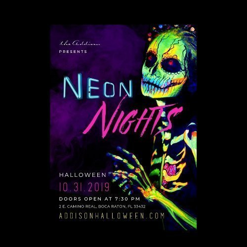 "Halloween at the Addison - ""Neon Nights"""