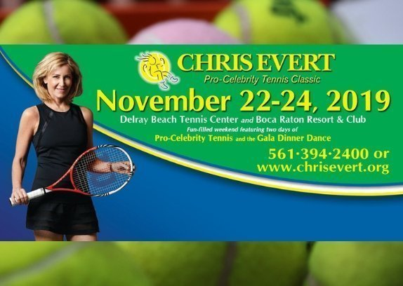 The Chris Evert Pro-Celebrity Tennis Classic and Gala presented by Chase Private Client