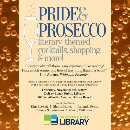 Pride & Prosecco at Delray Beach Public Library