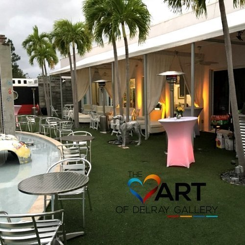 Event Space at The Heart of Delray Gallery, Delray Beach