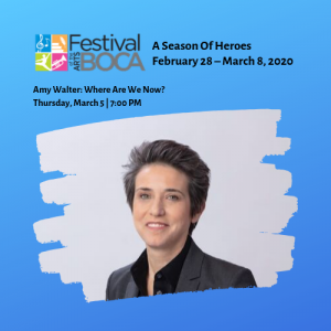 Festival of the Arts BOCA – Amy Walter: Where Are We Now?