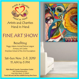 Artists and Charities Hand In Hand Fine Art Show