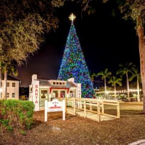 100 ft Christmas Tree - Delray Beach