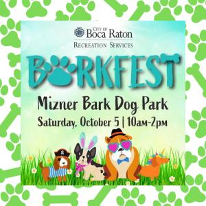 BarkFest at Mizner Bark Dog Park