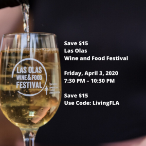 Save $15 Las Olas Wine and Food Festival