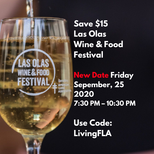 Save $15 Las Olas Wine and Food Festival