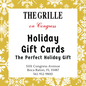 The Grille on Congress - Holiday Gift Cards