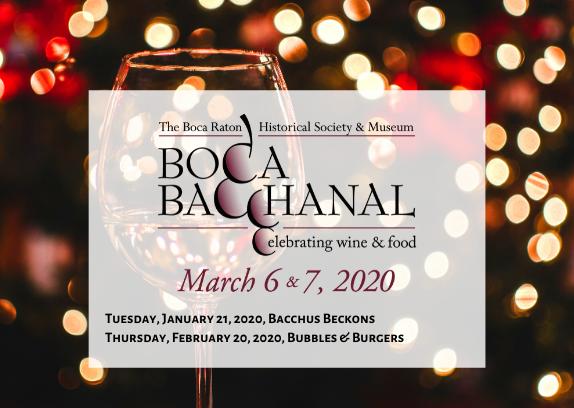 2020 Boca Bacchanal - 4 Special Events