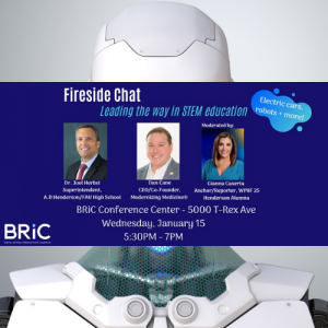 Fireside Chat: Leading the way in STEM Education at BRIC