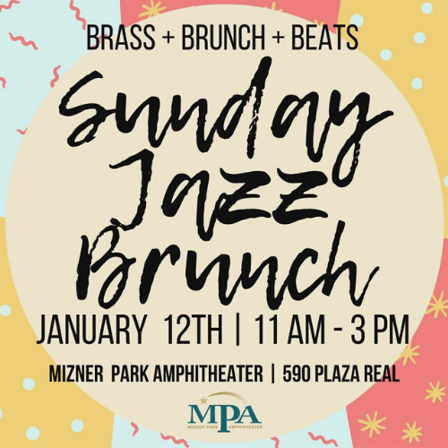 Sunday Jazz Brunch at Mizner Park Amphitheater