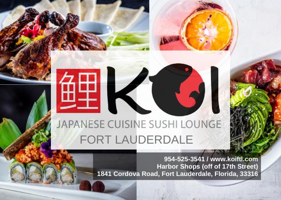 Koi Japanese Cuisine & Sushi Lounge