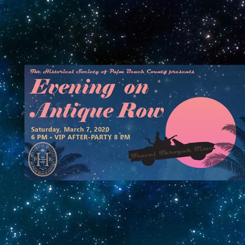 Evening on Antique Row - West Palm Beach