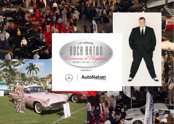 The Boca Raton Concours d'Elegance, February 7-9, 2020