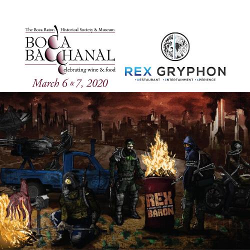 Boca Bacchanal Vintner Dinner at Rex Baron