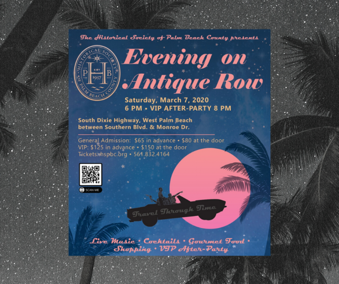 Evening on Antique Row - March 7th