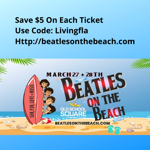 Save $5 The International Beatles On The Beach Festival