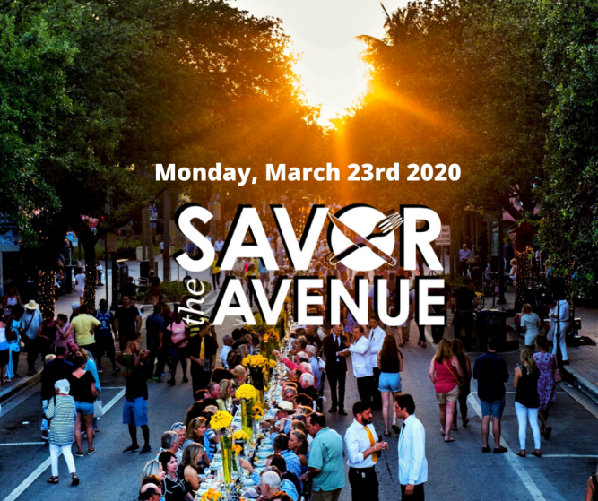 Tickets On Sale Now Savor The Avenue In Downtown Delray Beach - Monday, March 23 2020