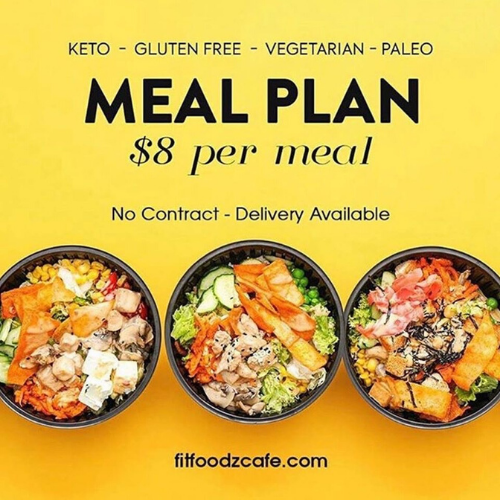 Fit Foodz Cafe Meal Plan