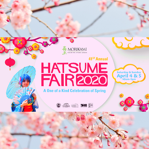 Hatsume Fair 2020 at the Morikami April 4 & 5