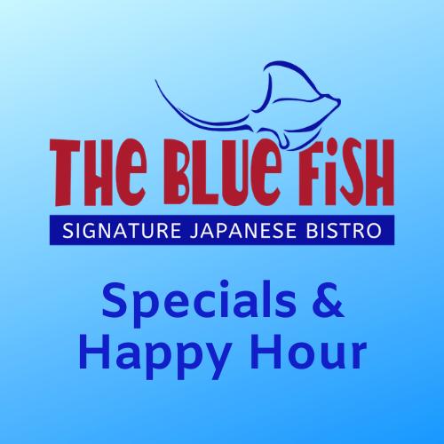 The Blue Fish Mizner Park Specials & Happy Hours