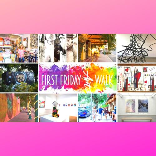 Downtown Delray Beach First Friday Virtual Art Walk