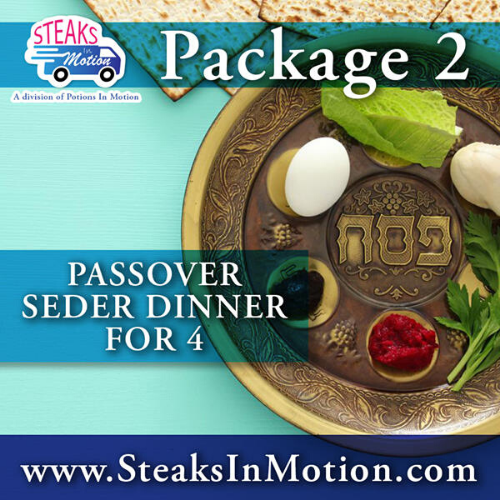 Passover Seder Dinner For 4 from Potions In Motion Catering