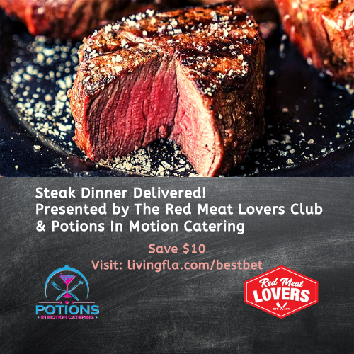 Gourmet Delivered Steak Dinner from Potions In Motion
