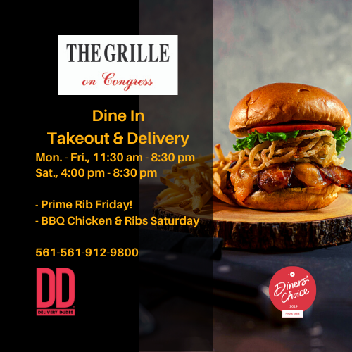 The Grille on Congress Dine In, Takeout & Delivery