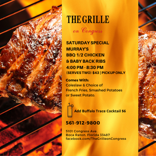 BBQ Chicken & Ribs Special at The Grille on Congress