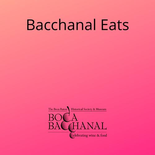 Bacchanal Eats Partner