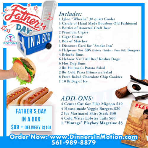 Father's Day in a Box by Potions In Motion Catering