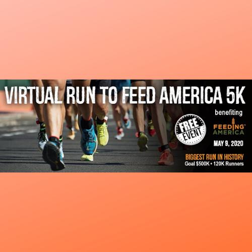 Virtual Run to Feed America 5K