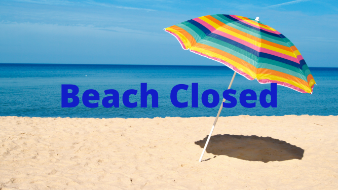 South Florida Beaches Closed for 4th of July Weekend