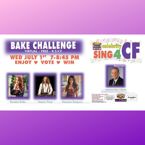 Mason Pace Invites You to the Bake Challenge for Cystic Fibrosis