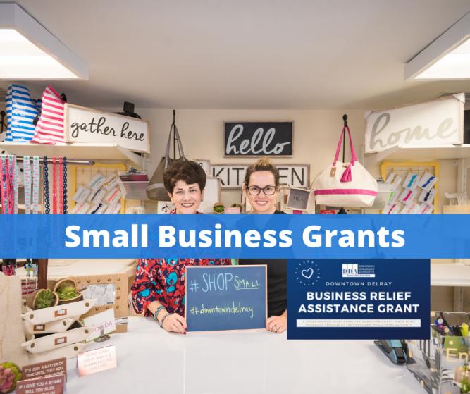 Delray Beach DDA Designates $30,000 for Small Business Grants