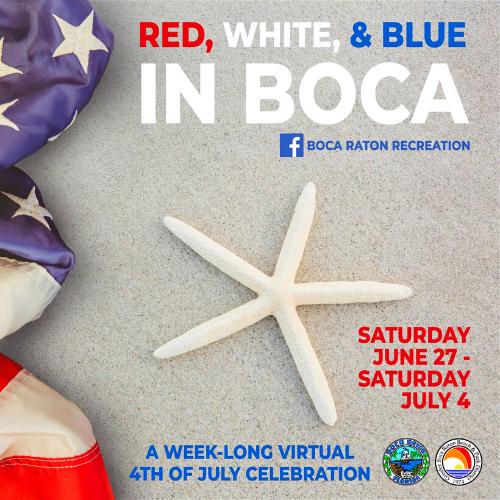 Red, White, & Blue in Boca