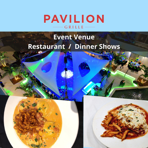 Restaurant / Dinner Shows at Pavilion Grille Boca Raton